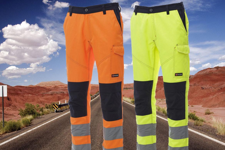 Pantaloni alta visibilità EN 20471