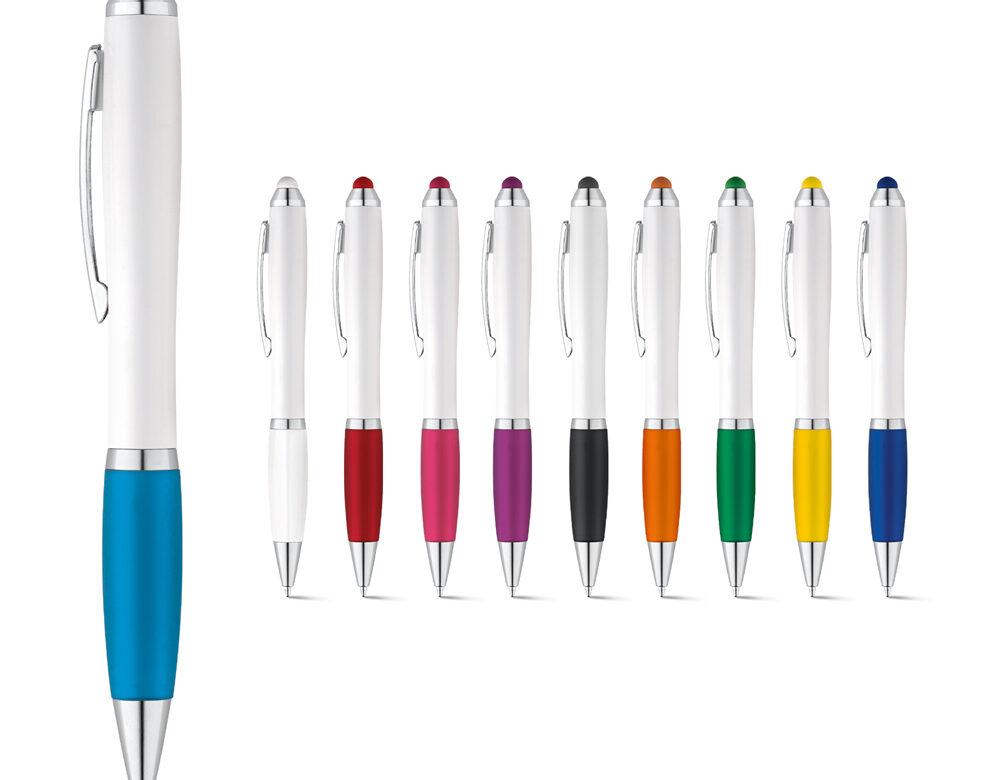 100 penne a Sfera con gommino Tuch personalizzate